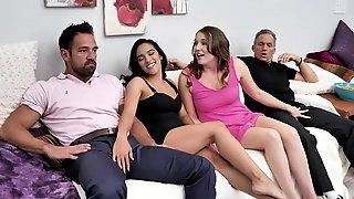 Horny babes Caught Watching Porn