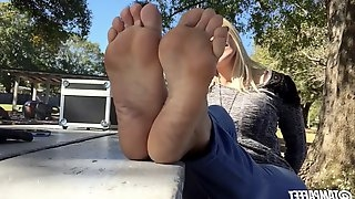 Blonde Wrinkled Soles