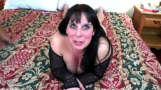 Beautiful busty milf Felicha Karr wanted to spice up her relationship