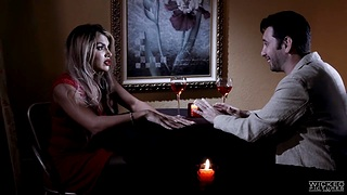 Femme fatale Mercedes Carrera is host love with hot blooded man