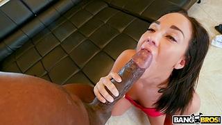 Asian handles huge black dig up far marvelous XXX