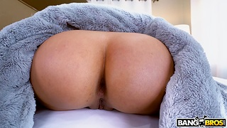 Ill at ease Latina gets her hands on a average BBC