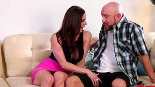 Blistering man yon a fat dick fucks wet pussy of down in the mouth MILF Kendra Lust